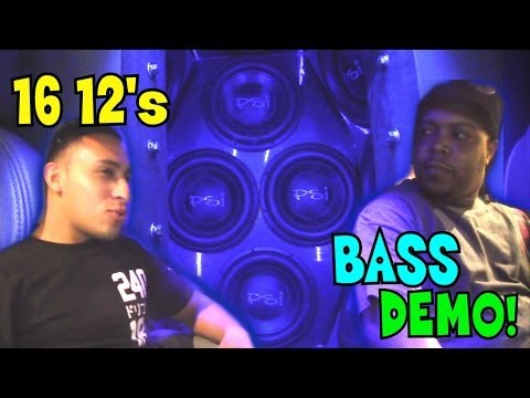 "16 12"" Subwoofers MEGA LOWS 
