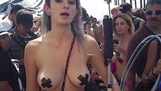 Repeat youtube video Free The Nipple Parade - GO TOPLESS DAY!