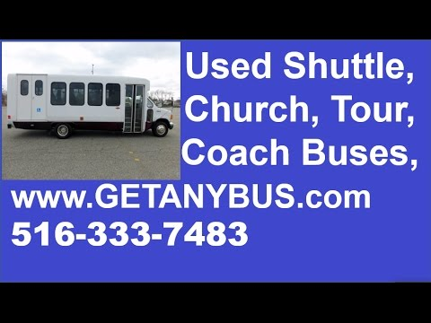 Church Bus For Sale | Call 516-333-7483 | 2005 Ford E450 Wheelchair Church Shuttle Bus For Sale
