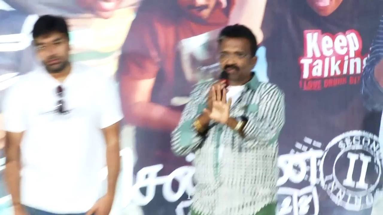 Film Producer T.Siva Speech About Actor Ajith In chennai 28 part 2 Press Meet!