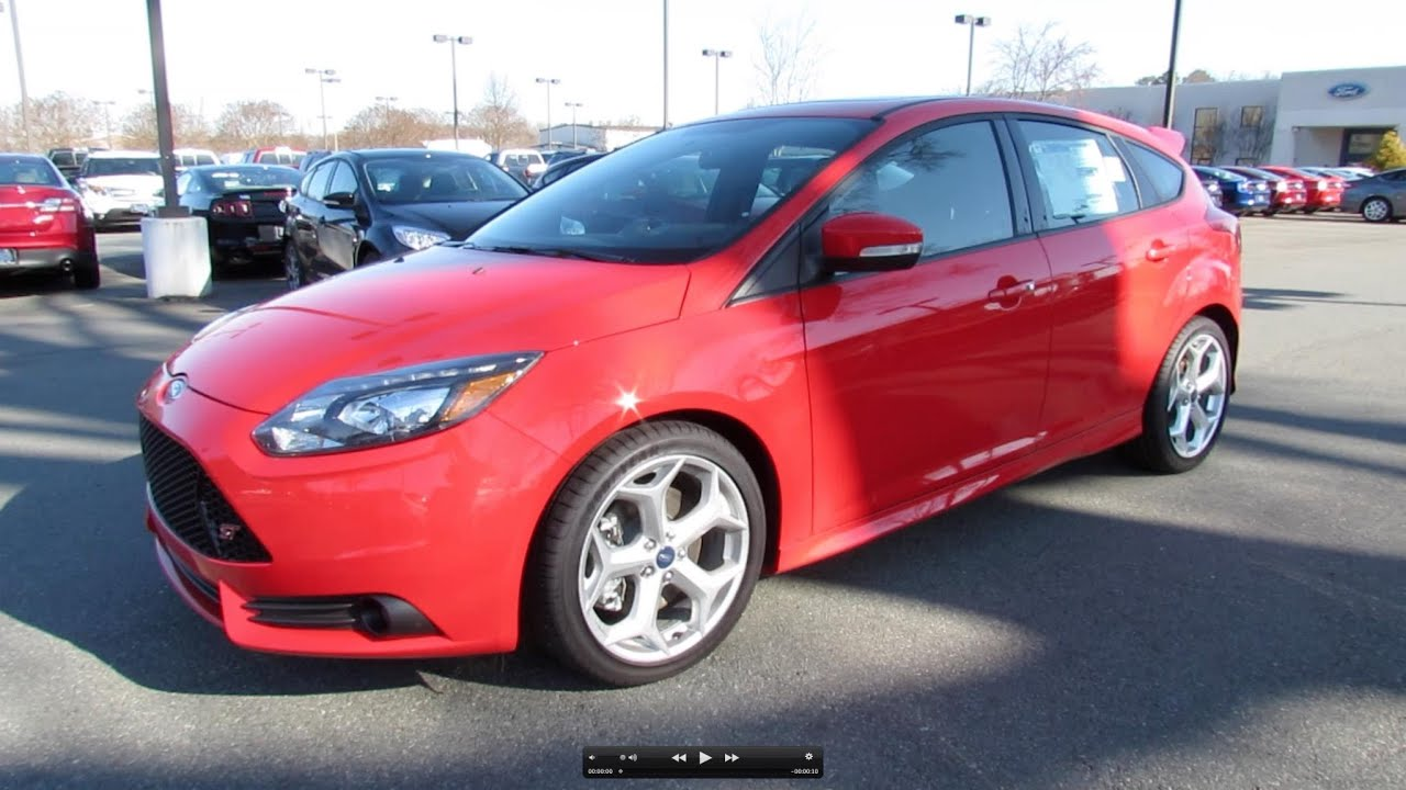 2013 Ford Focus St Start Up Exhaust And In Depth Review