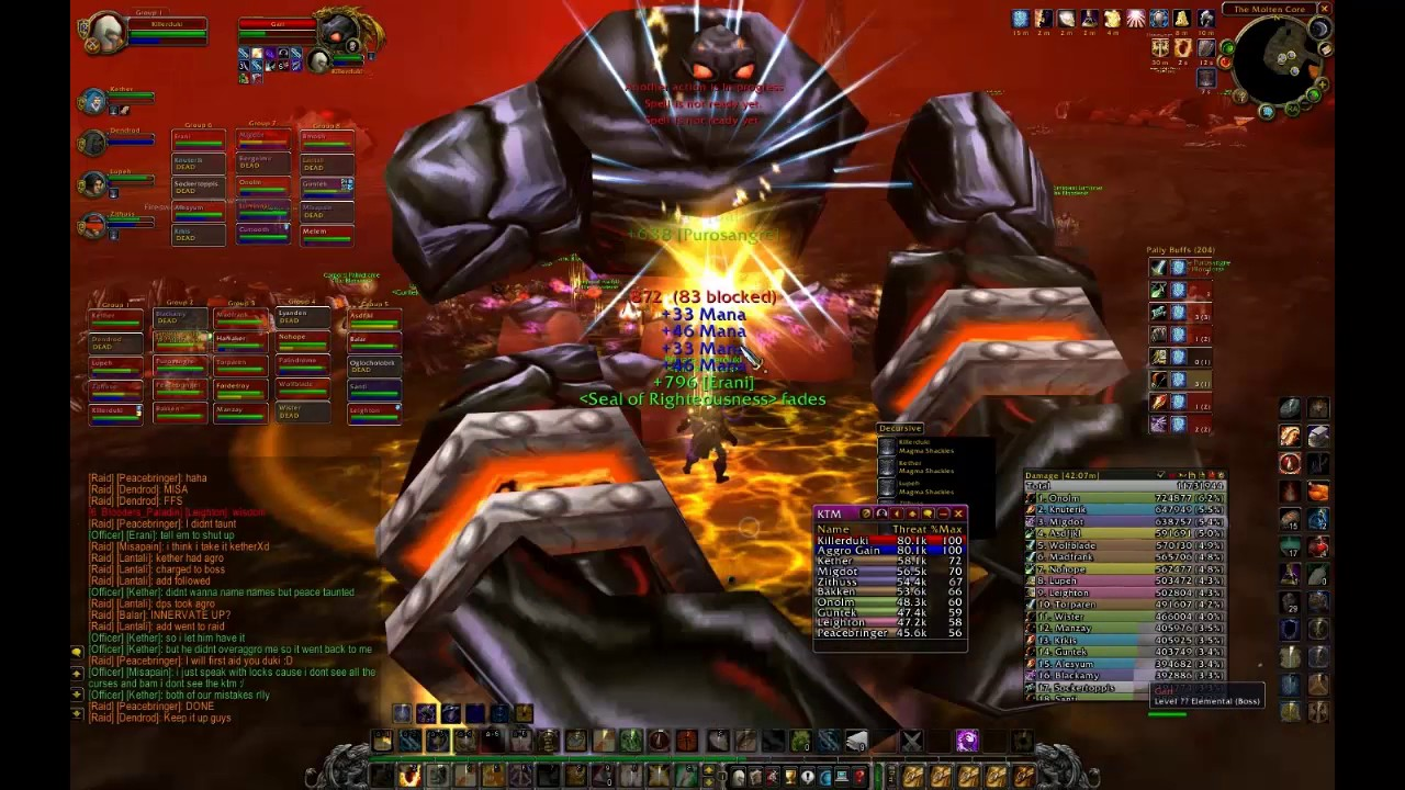 A Guide to Paladin Tanking (3/13/2006) - By Krynn - Paladin