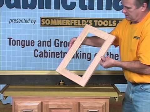 Sommerfelds Tools For Wood Glass Panel Doors Made Easy With Marc