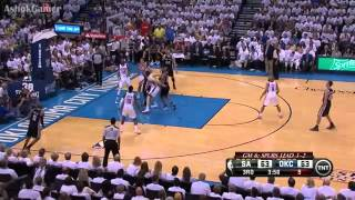San Antonio Spurs 112 x 107 Oklahoma City Thunder OT Game 6 Final NBA 2013/2014