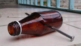 Cara Melubangi Botol Kaca Tanpa Menggunakan Bor