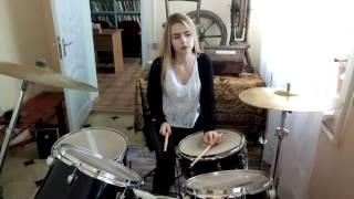 Наргиз- Беги (drum cover Anastasia Frais)