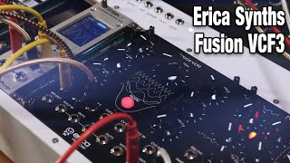 Erica Synths Fusion VCF3 - no talking demo