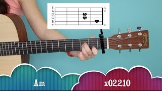 """You and I"" - One Direction EASY Guitar Tutorial/Chords [&GIVEAWAY!]"