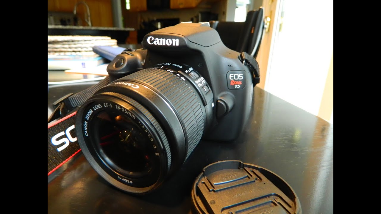 Refurbished Canon Eos Rebel T5 Unboxing By Matthew Tebos