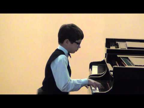 Иоганн Себастьян Бах - BWV 784 - Инвенция №13 (ля минор)