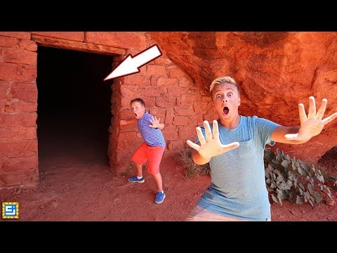 EXPLORING SECRET ABANDONED UNDERGROUND TUNNEL!!