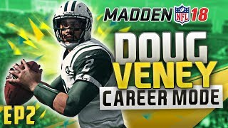 MADDEN 18 CAREER MODE GAMEPLAY - UNBELIEVABLE ENDING + QB RUSHES FOR 100 YARDS! | EP2