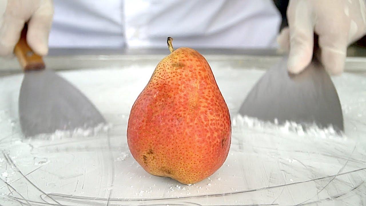 USA Red Anjou Pears Ice Cream Rolls