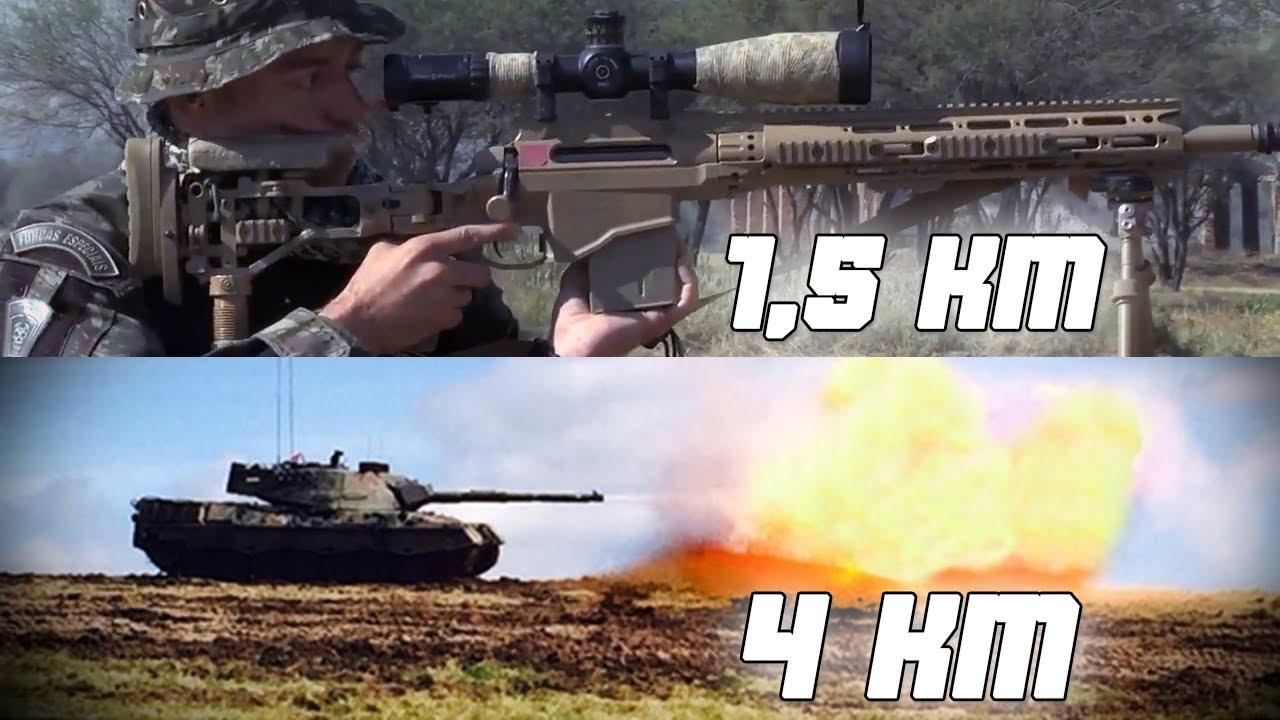 Qual o Alcance das Armas do Exército Brasileiro ?
