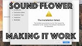 How to Setup Soundflower (MacOS Sierra 2017 System Audio