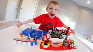 MY LEGO HOUSE! / Skatepark, Dinosaurs, and MORE!
