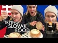 Trying Slovak Food | What I Ate in Bratislava, Slovakia
