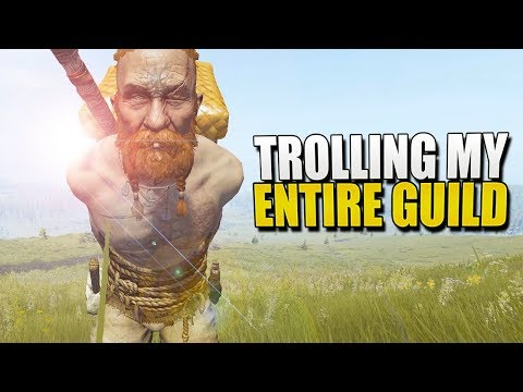 TROLLING My ENTIRE GUILD (Life Is Feudal: MMO) #5