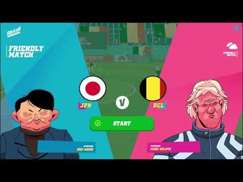 Golazo! Soccer League  Japan vs Belgium  Match 13 |