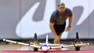 Airplane Trick Shots | Dude Perfect thumbnail