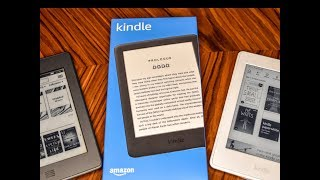 The NEW 2019 Amazon Kindle Is The Best Value Yet - NOW BACKLIT!!