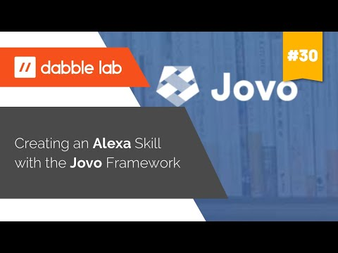 Creating an Alexa skill with the Jovo Framework