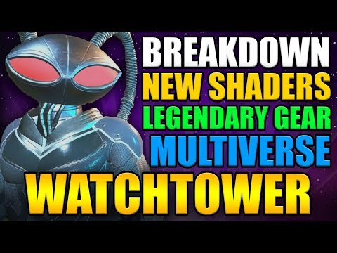 BLACK MANTA Breakdown! - Watchtower Stream #17 (Legendary Gear, Patches, Combos)
