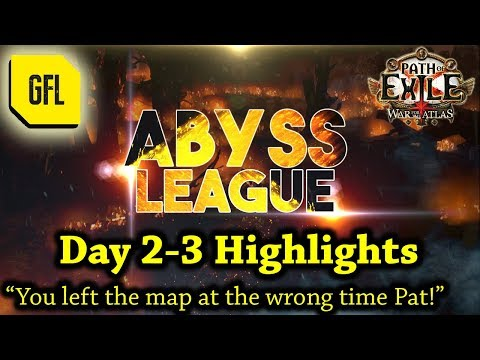 "Path of Exile 3.1: War for the Atlas DAY #2-3 Highlights ""You left the map at the wrong time Pat!"""