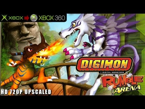 Digimon Rumble Arena 2 - Gameplay Xbox HD 720P (Xbox to Xbox 360)