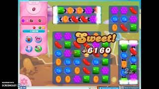 Candy Crush Level 1212 Audio Talkthrough, 3 Stars 0 Boosters