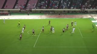 2016.9.22 天皇杯3回戦 ヴィッセル神戸 vs モンテディオ山形 アルセウ退場