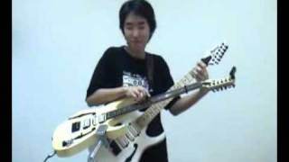 clip guitars - doubel guitar doraemon.flv