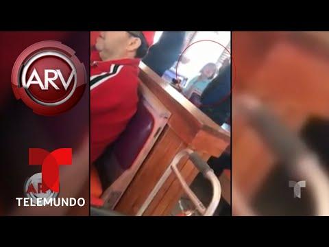 Insulto racista a un empleado por hablar en español   Al Rojo Vivo   Telemundo
