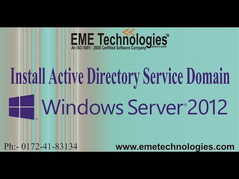 How To Install Active Directory Domain Services In Windows Server 2012 R2 | EME Technologies