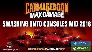 Carmageddon Max Damage - Console Trailer