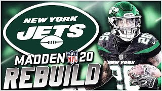 Rebuilding the New York Jets | Sam Darnold is the Future! Madden 20 Franchise