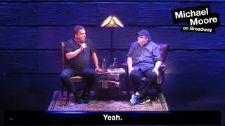 Jeff Garlin at Michael Moore on Broadway