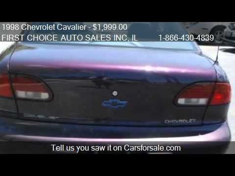 1998 Chevrolet Cavalier 1 - Chevrolet Cavalier Coupe For Sale In Markham Il - 1998 Chevrolet Cavalier 1