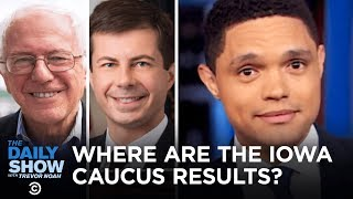 democrats-leave-iowa-a-fake-traffic-jam-california-s-push-to-end-fitness-tests-the-daily-show