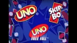 UNO / Skip-Bo / UNO Freefall (DS) UNO Freefall gameplay