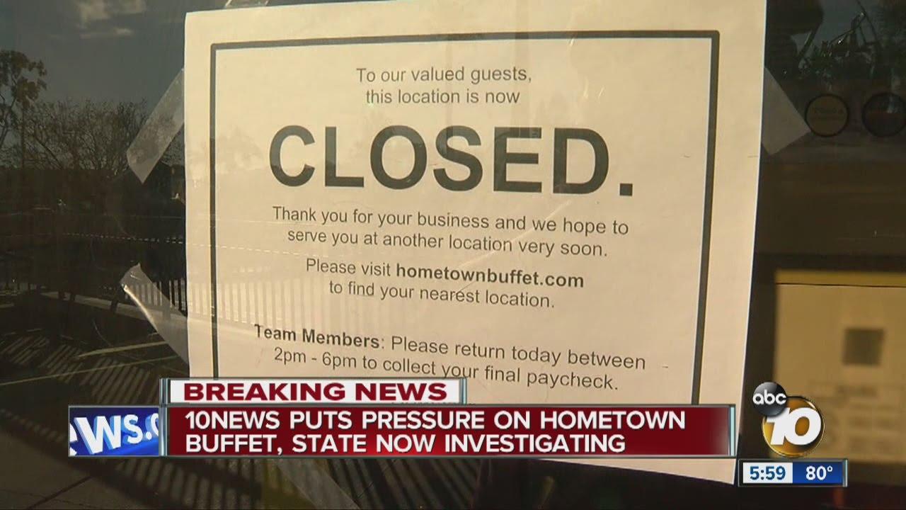 state to investigate hometown buffet layoffs youtube rh youtube com closest hometown buffet to me HomeTown Buffet Logo