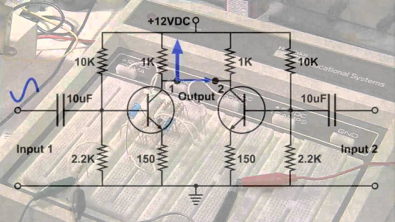 Differential amplifier the basics youtube pooptronica