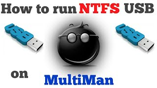 How to run any ntfs usb on multiman without usb.cfg(configuration) [PS3 CFW]
