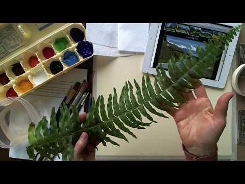 Landscape Painting Lesson Introduction