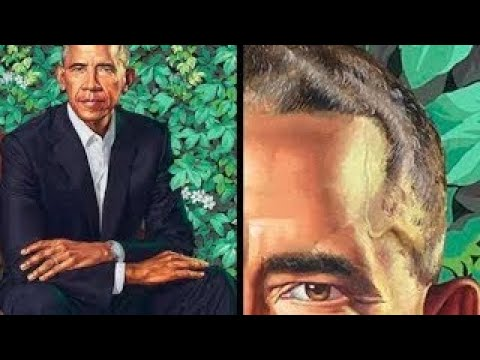 'Squirt Of Sperm' Hiding In Plain Sight On Obama's New Official Portrait