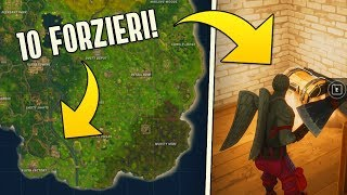 QUESTA AREA NASCONDE 10 FORZIERI! - Fortnite Battle Royale [ITA]