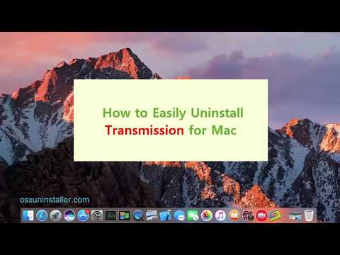 How Can I Totally Uninstall Transmission for Mac