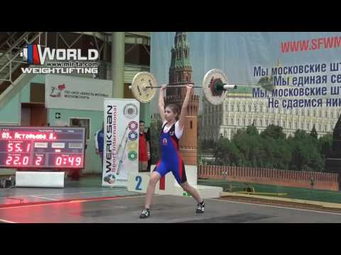23.02.2017(session-1.C+Jerk) Competition Team YUNOST' Moscow  to 16 years