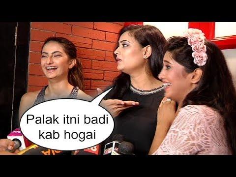 Shweta Tiwari With Daughter Palak At Shivangi Joshi Birthday Party 2018