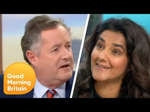 Piers Clashes With Extinction Rebellion Co-Leader Skeena Rathor Over Protests | Good Morning Britain